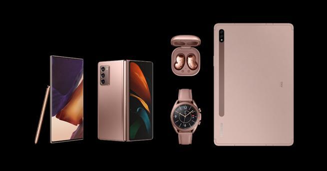 Технологии Samsung добави пет устройства към гамата Galaxy Сред тях