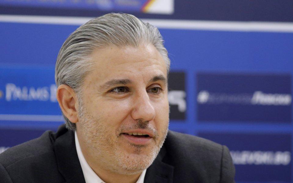 В неделя, 9 август, изпълнителният директор на Левски -Павел Колев,