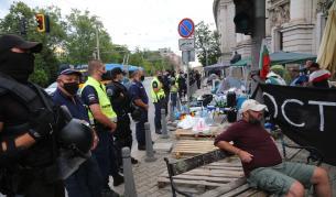 Премахнаха палатковите лагери в страната - България