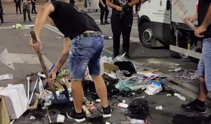 """Полицията разпространи кадри от """"Орлов мост"""""""