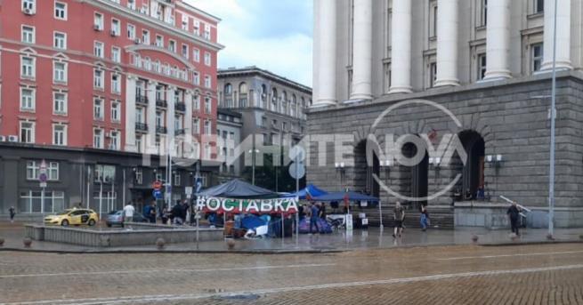 България 30-и ден на протест, има задържан мъж Малко след