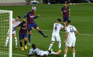 """НА ЖИВО: Барселона - Наполи, Меси танцува на """"Камп Ноу"""""""