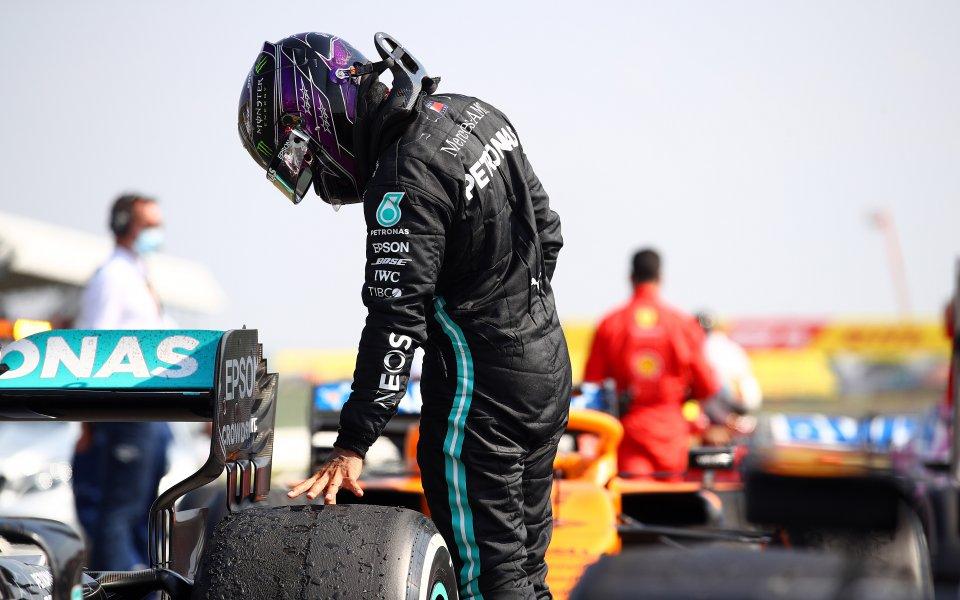 Световният шампион Люис Хамилтън завършивтори в Гран при-то, посветено на