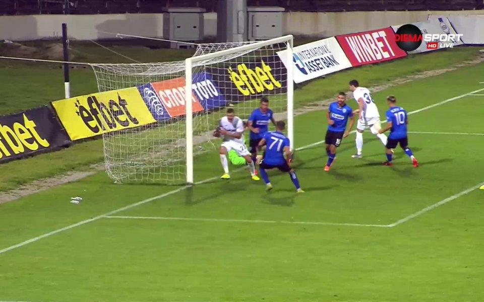 Черно море изравни резултата срещу Славия в петата минута на
