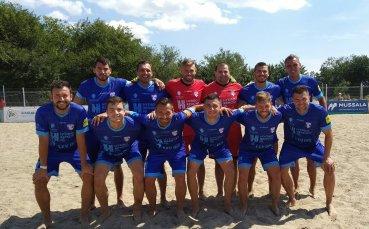 МФК Спартак спечели редовния сезон в плажния футбол