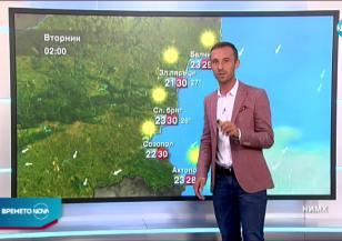 Прогноза за времето (10.08.2020 - обедна емисия)
