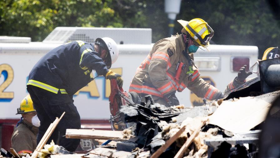 Мощна експлозия срина къщи в американския град Балтимор, има жертва