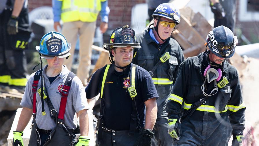 Експлозия срина къщи в американския град...