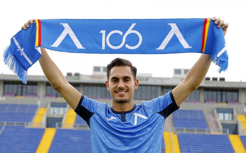 Левскиподписа договор за една година с Матео Стаматов. Футболистът парафира
