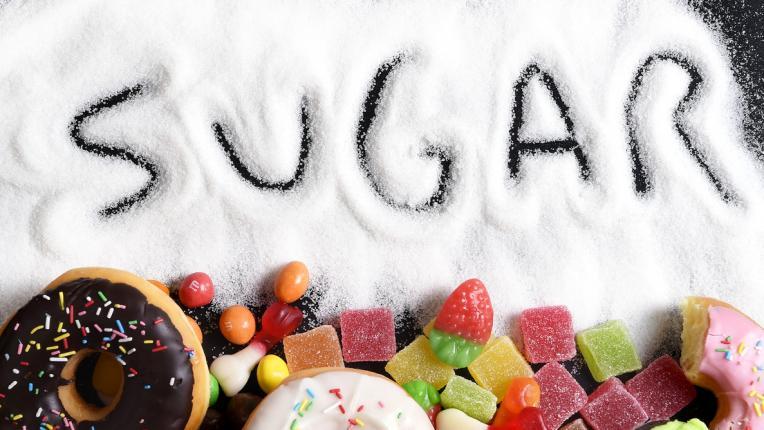 захар храна