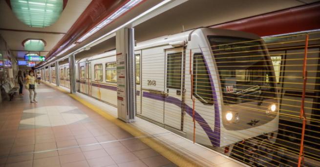 България Част от третата линия на метрото стартира до края