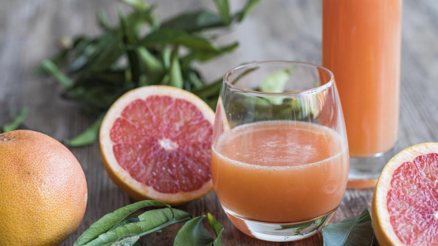 Кога сокът от грейпфрут може да e опасен за здравето