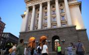 <p>Блокада при Румънското посолство в София&nbsp;</p>