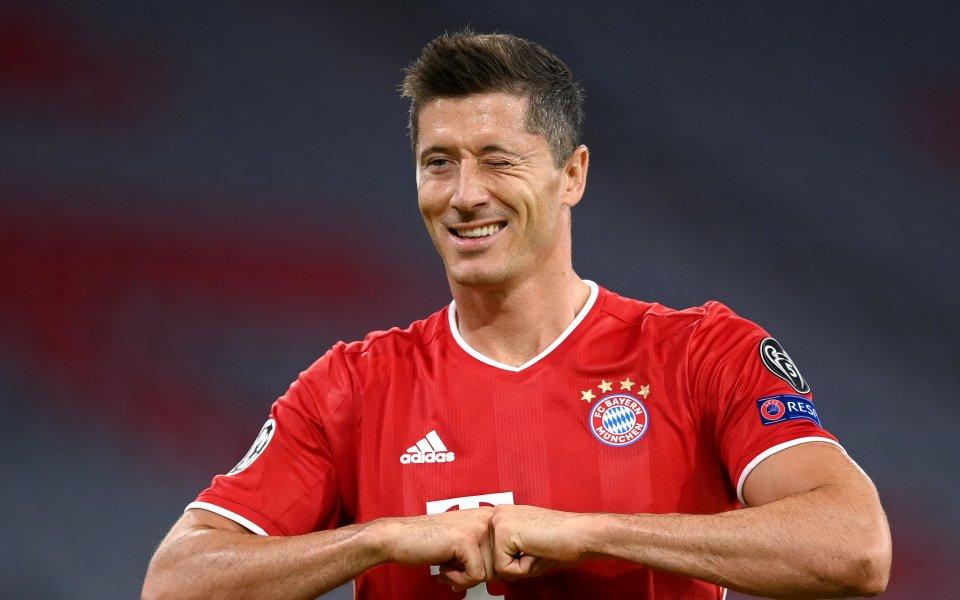 Нападателят на Байерн Мюнхен Роберт Левандовски изигра най-силния сезон в