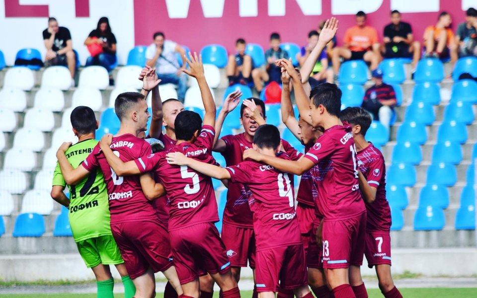 Септември София изпусна победата срещу Лудогорец в първа полуфинална среща