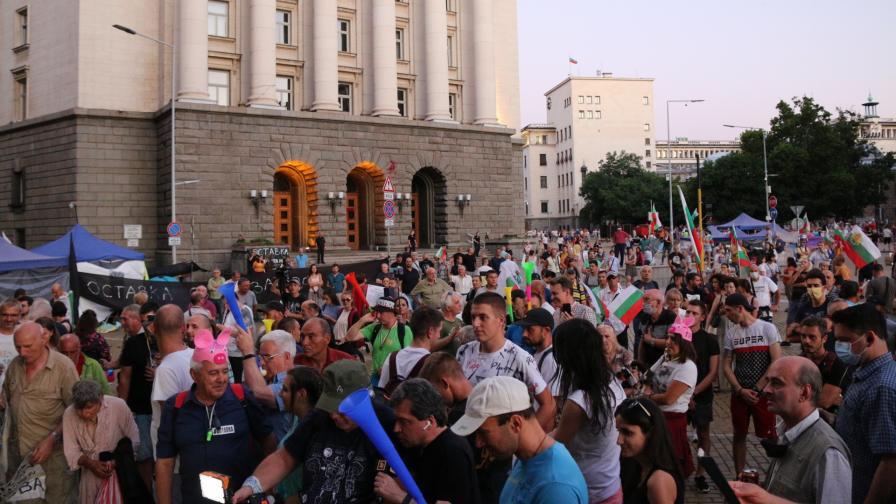 <p>Ден 51 на протести и контрапротести</p>