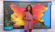 Прогноза за времето (24.08.2020 - обедна емисия)