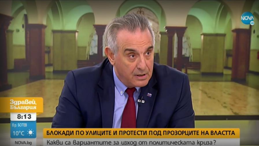 Касабов: Неприемливо е увеличаване на правомощията на президента