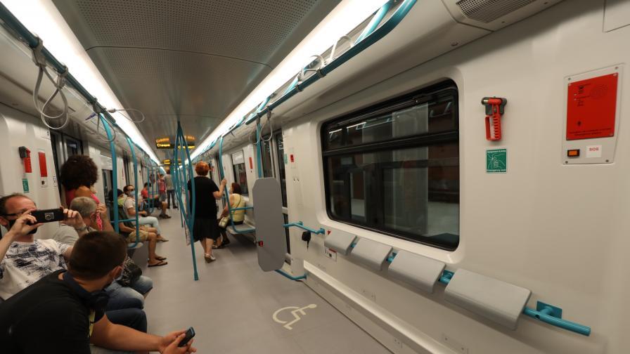 Нови станции на метрото протекоха