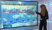 Прогноза за времето (27.08.2020 - обедна емисия)