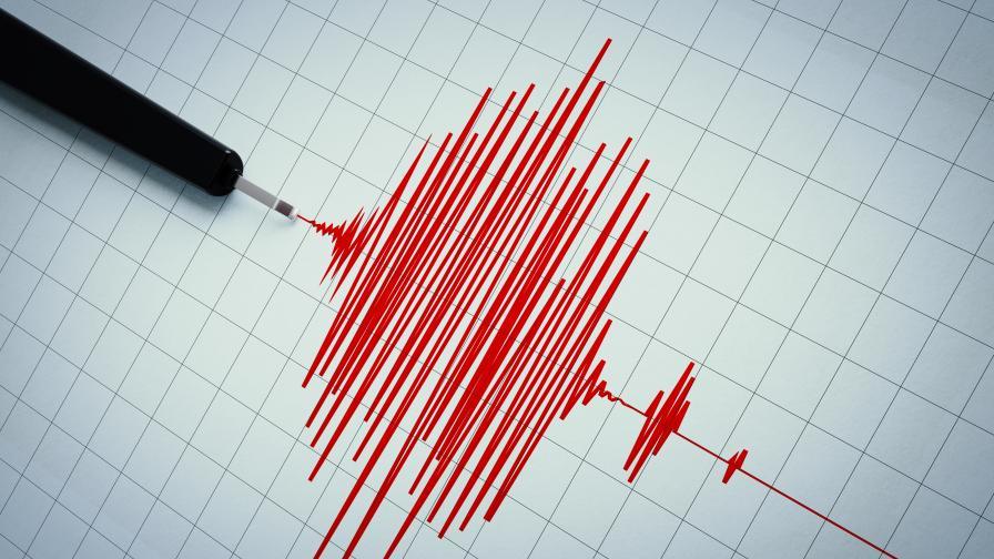 Земетресение от 4,3 по Рихтер край Атина