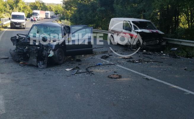 Тежка катастрофа край Севлиево взе жертва