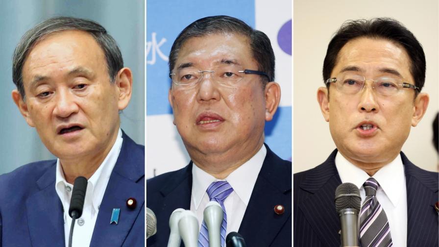 Кой ще замени Абе начело на Япония