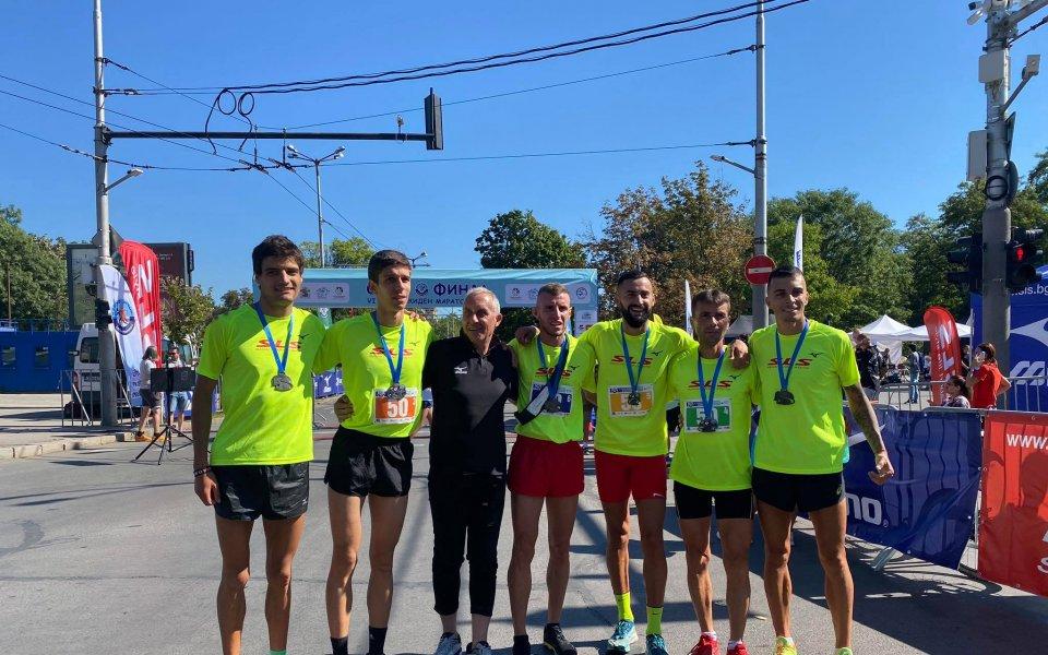 Нов рекорд на щафетния маратон Екиден