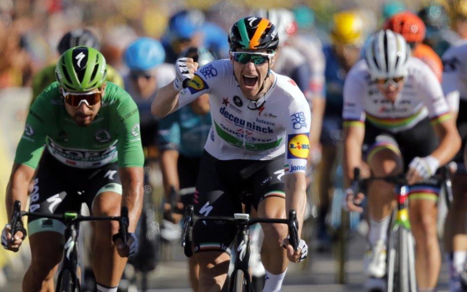 Сам Бенет спечели 9-ия етап на Вуелтата
