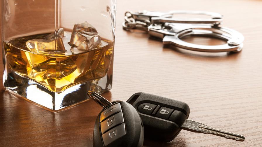 Хванаха 25-годишна с 4,29 промила алкохол зад волана