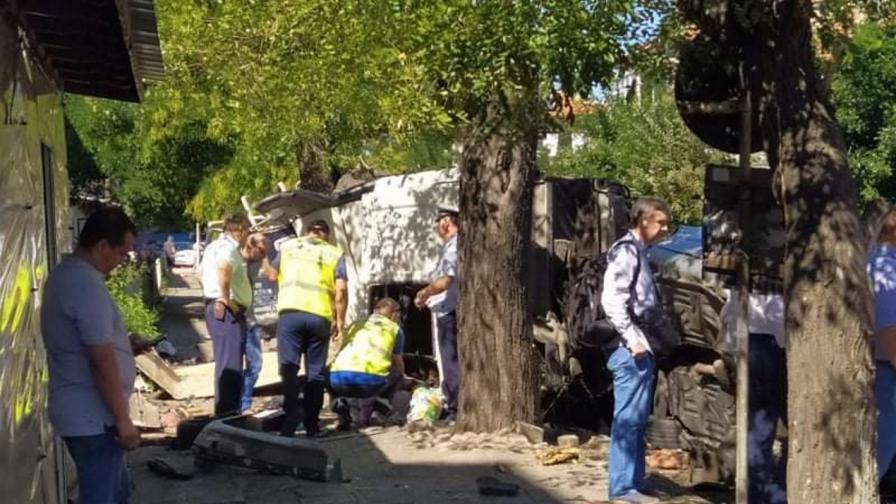 Дрогиран шофьор е предизвикал тежката катастрофа в Айтос