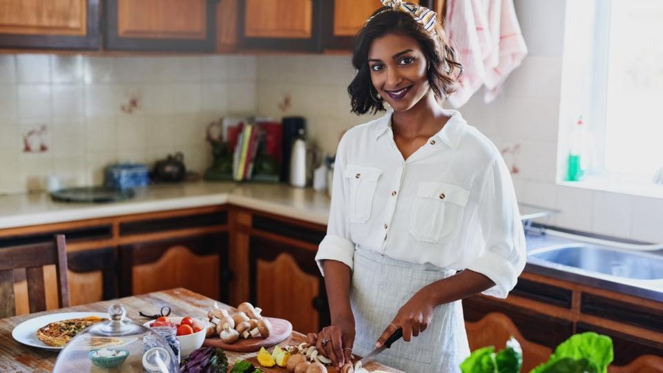 готвене кухня храна здравословно Индия индийка жена