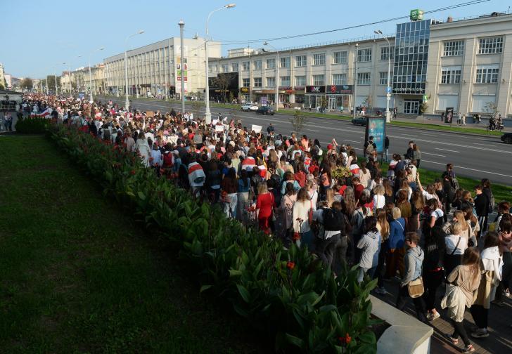 беларус протести