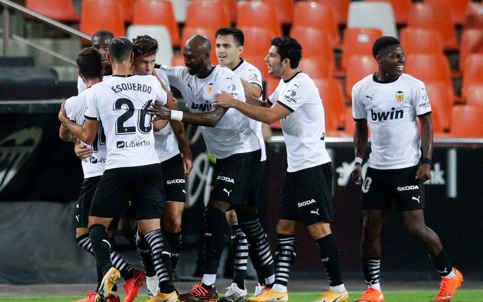 Валенсия победи Леванте с 4:2 в градско дерби в мач