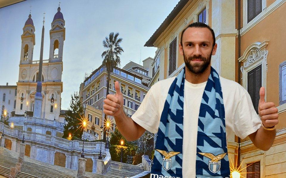 Тимът на Лацио официално подписа с косовскиянационал Ведат Мурики от