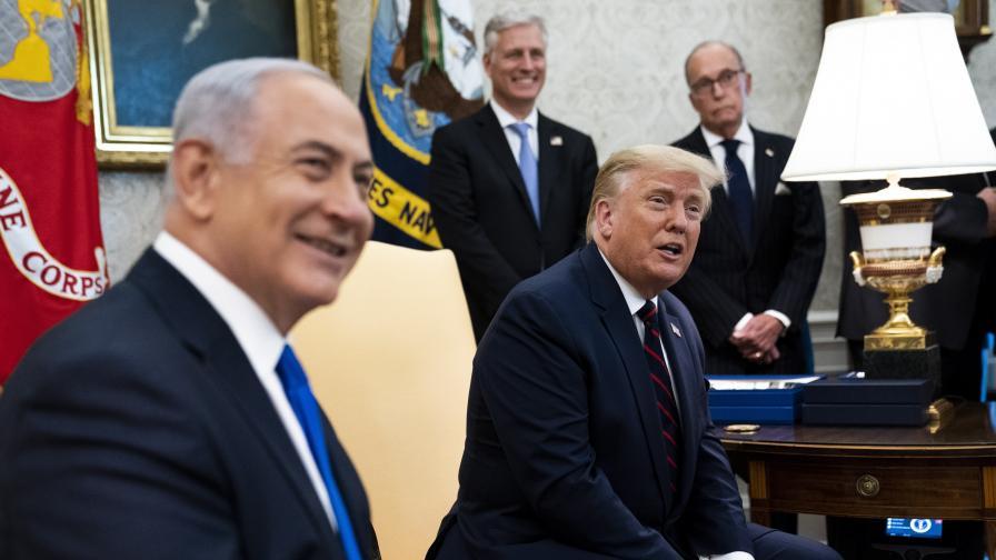 Израел, ОАЕ и Бахрейн подписаха исторически споразумения за мир