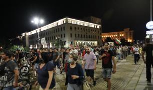 Антиправителствени протести за 79-а вечер в София