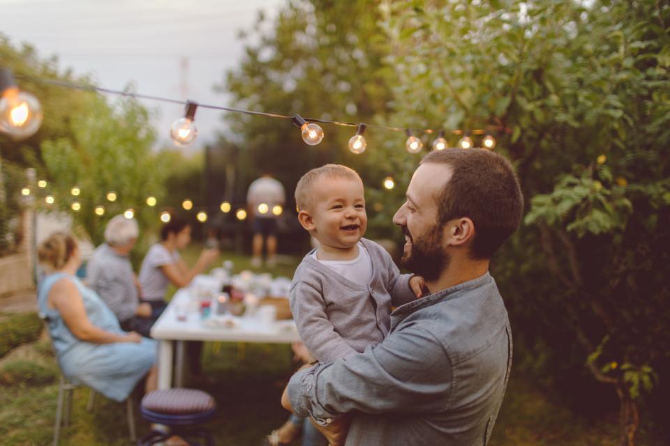 баща син дете прегръдка