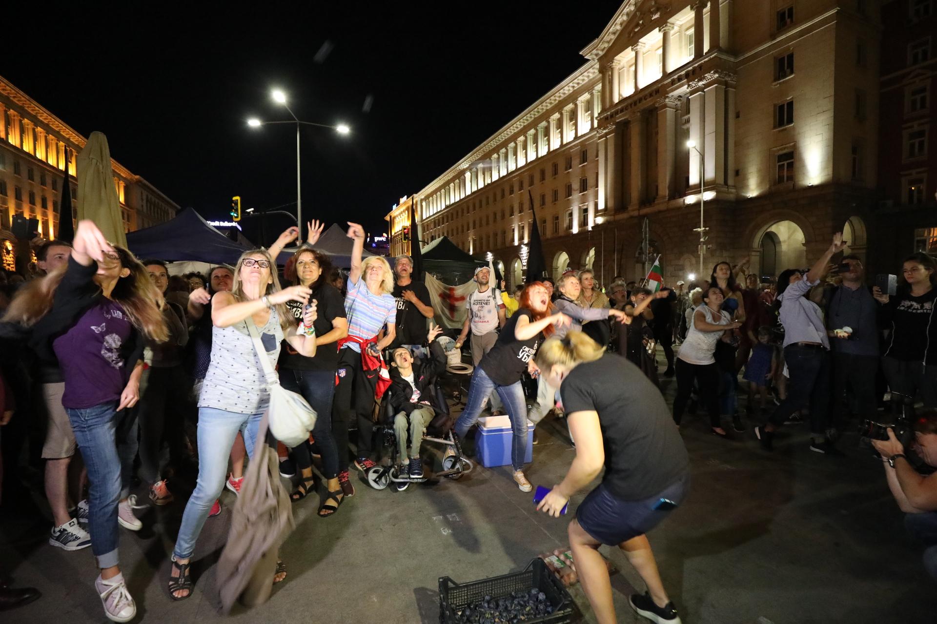 71-ви ден на протести в София
