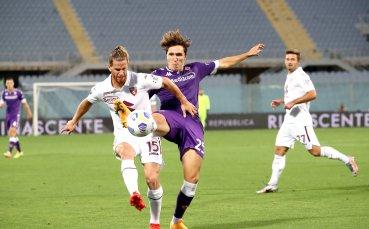 Фиорентина откри сезона в Серия А с успех над Торино