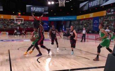 Бостън пречупи Маями за първи път във финала