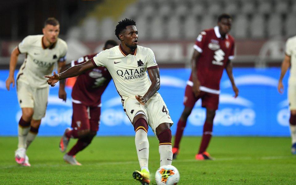 Ръководството на Серия А присъди служебна загуба на Рома в