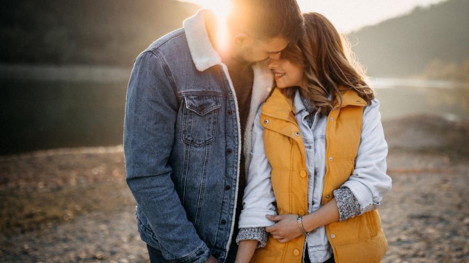 любов есен двойка природа