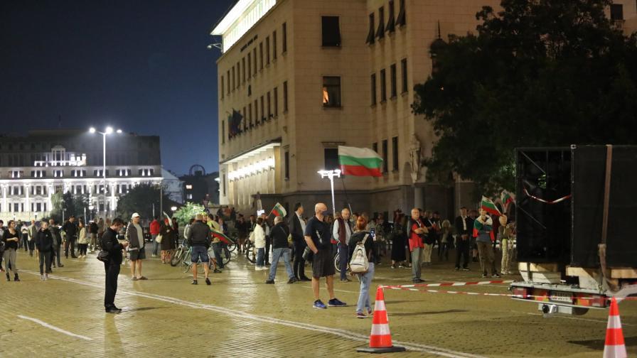78-ма вечер на антиправителствени протести