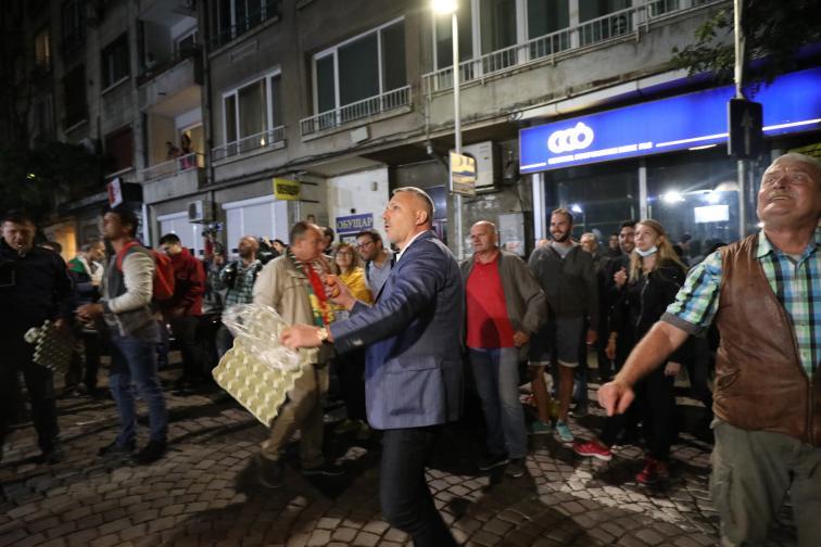 протест 78 ден Бруно