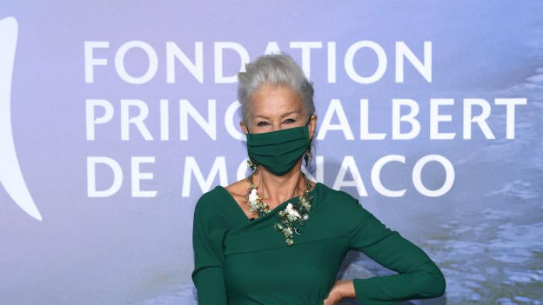Хелън Мирън прикова всички погледи в Монте Карло