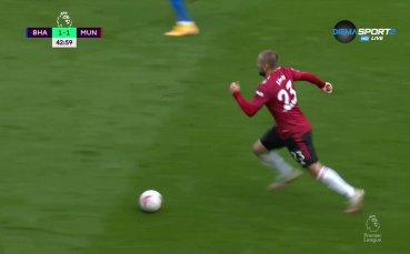 Юнайтед се върна в мача светкавично
