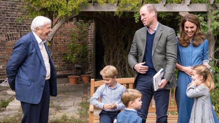 Кейт и Уилям показаха нови снимки на трите си деца