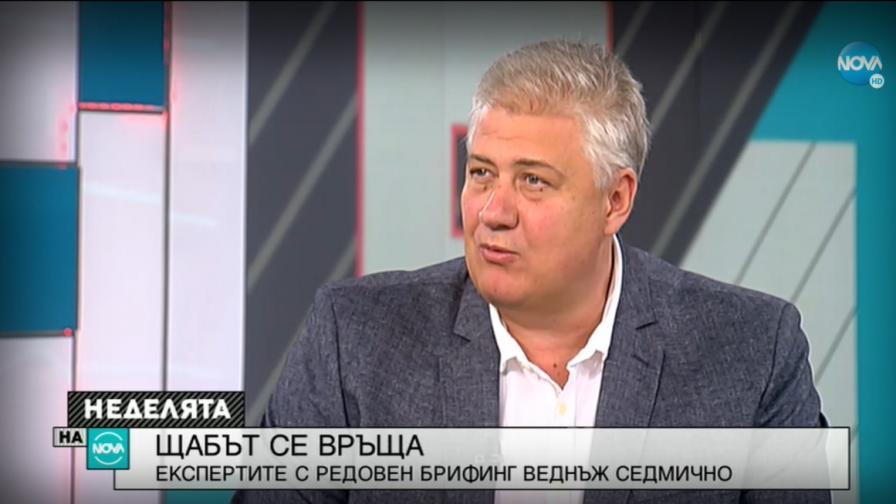 Балтов: България е остров, който остава с малко заразени с COVID-19