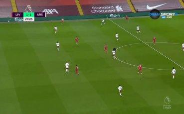 Ливърпул - Арсенал 2:1 /първо полувреме/